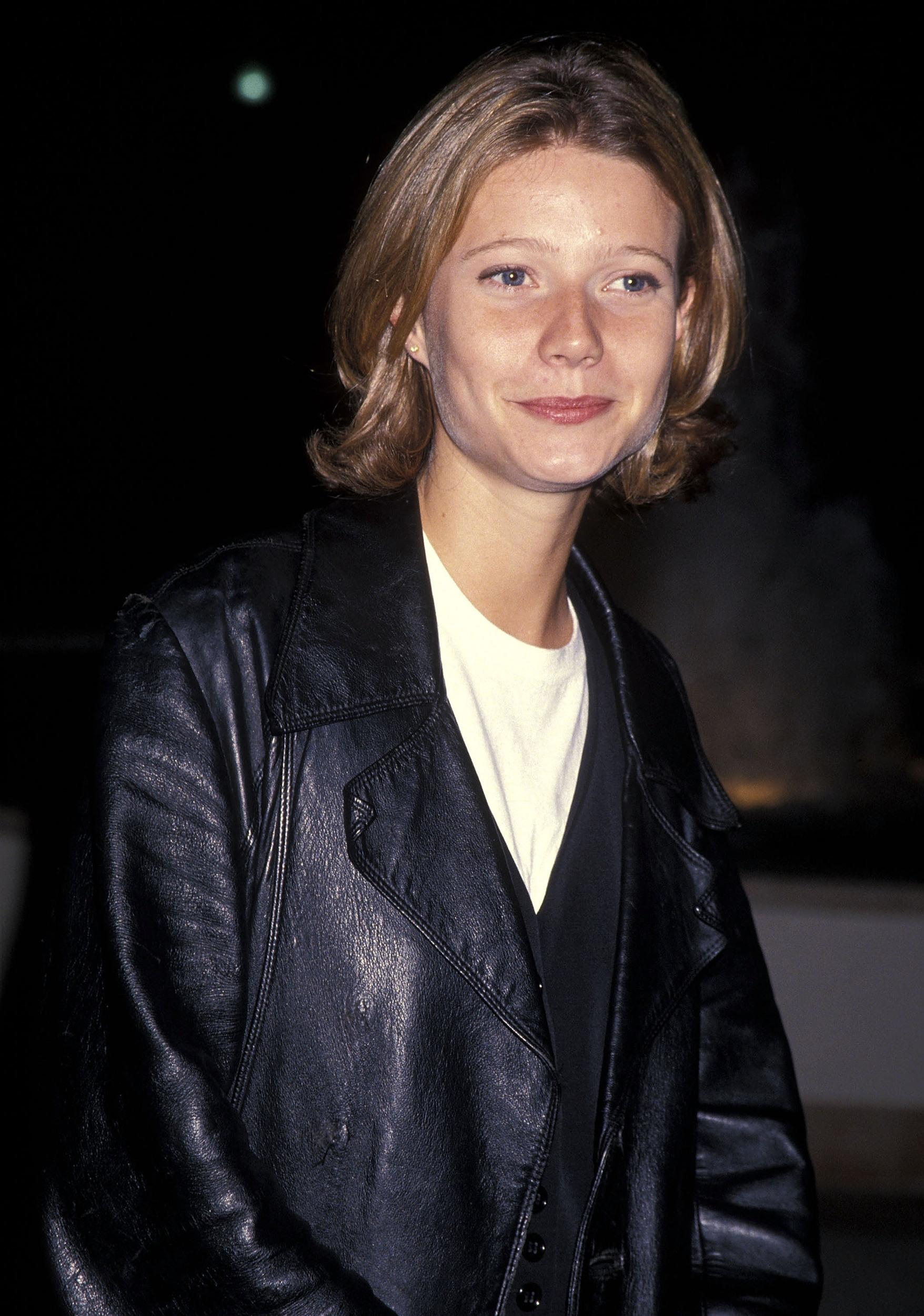 Actress Gwyneth Paltrow attends the 'Flesh & Bone' Hollywood Premiere on November 4, 1993 at Paramount Theatre in Hollywood, California. (Photo by Ron Galella, Ltd./WireImage)
