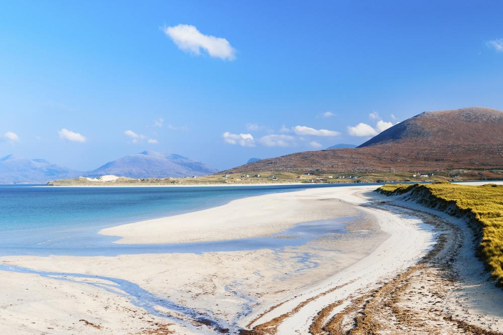 Lewis and Harris in the Outer Hebrides is the third biggest single island in the British Isles. The island is steeped in culture that dates back thousands of years and is illustrated by the ancient stone circles that are visible on the island.