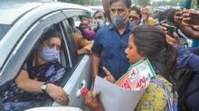 Irani Slams Rahul's Hathras 'Politics'; Protesters Block Her Car