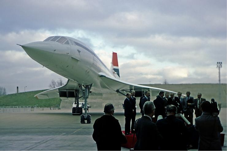 Jan 21 1976 Concorde Jet Makes First Commercial Flight
