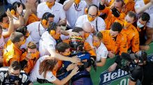 """Sainz lamenta segundo lugar mas celebra bom ritmo na Itália: """"Não acredito que tive a chance de lutar pela vitória"""""""