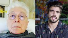 """Aguinaldo Silva defende Caio Castro: """"Ser heterossexual é condenável?"""""""