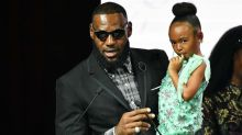 Meet the internet's newest adorable sensation: LeBron James' daughter Zhuri