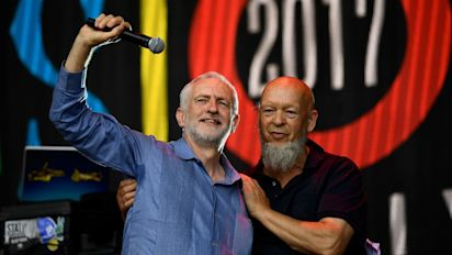 Jeremy Corbyn forced to deny he told Glastonbury organiser he will scrap Trident 'as soon as I can'