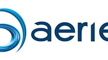 Aerie Pharmaceuticals Announces Successful Interim 90-Day Topline Data From Its Six-Month Mercury 3 Clinical Trial in Europe