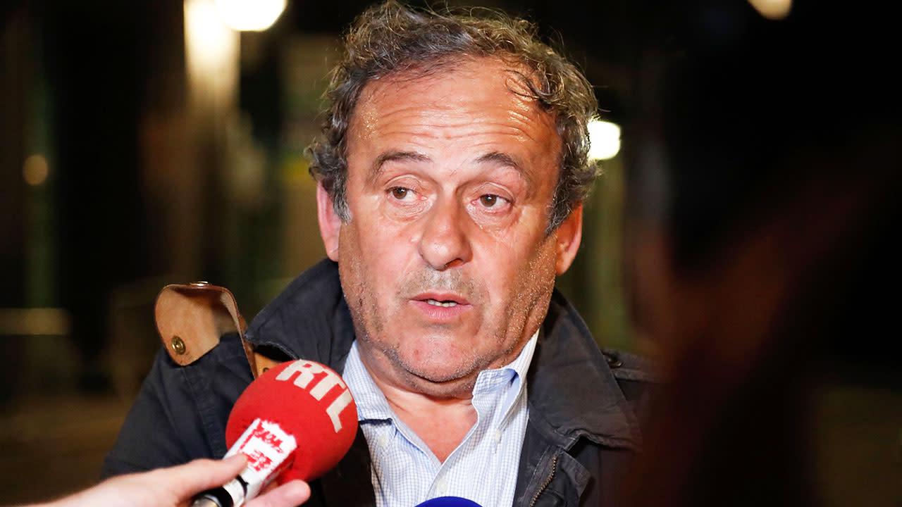 Dramatic twist in arrest of former UEFA president