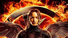 Katniss Is on Fire in New 'Mockingjay' Poster