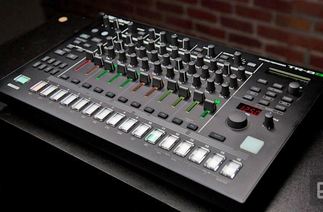 Roland's TR-8S drum machine is ready to tackle the stage
