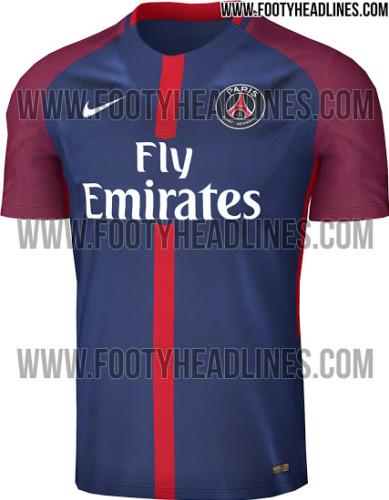 Les photos du maillot domicile du PSG 2017-2018 dévoilées