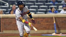 Acuña scratched from Braves' lineup with stiff back