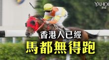 香港人已經  馬都無得跑