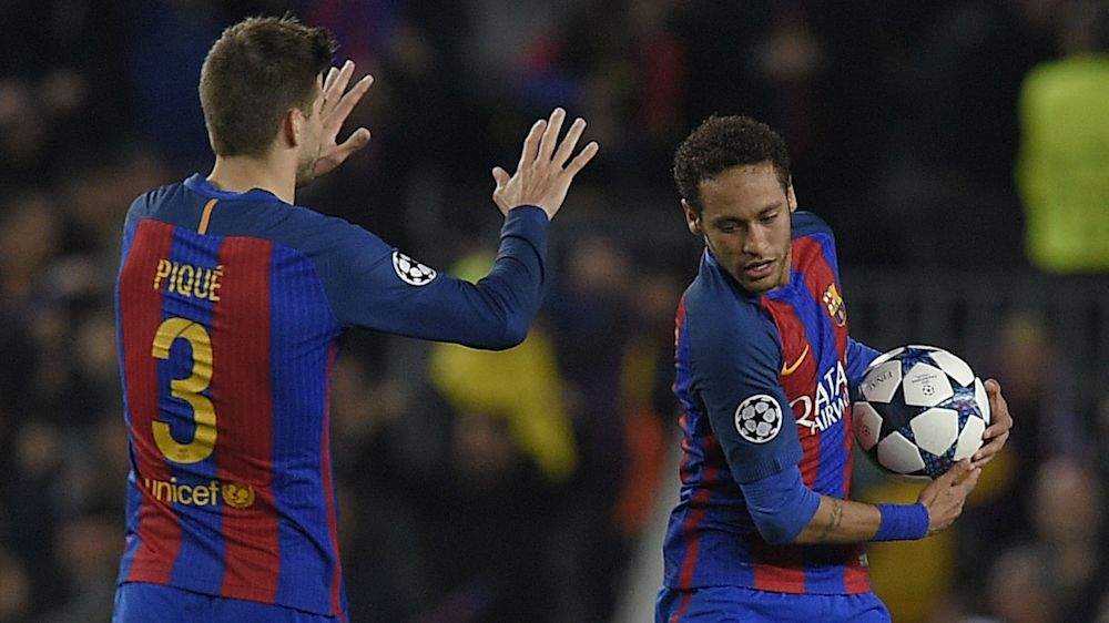 """Barcellona, confessione Piquè: """"Sapevo dell'addio di Neymar già dal matrimonio di Messi"""""""
