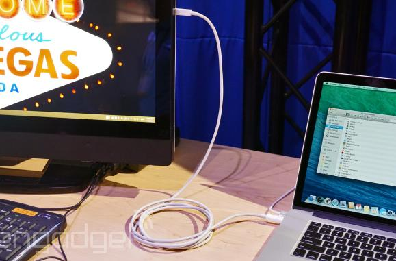 Thunderbolt 2 Networking enables 10 Gbps Ethernet connection, supports Macs and PCs