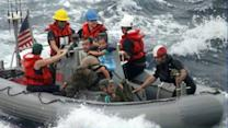 Paratroopers Save Sick Baby on Sailboat Adrift at Sea