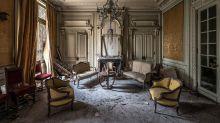 PHOTOS: Urban explorer reveals abandoned castle
