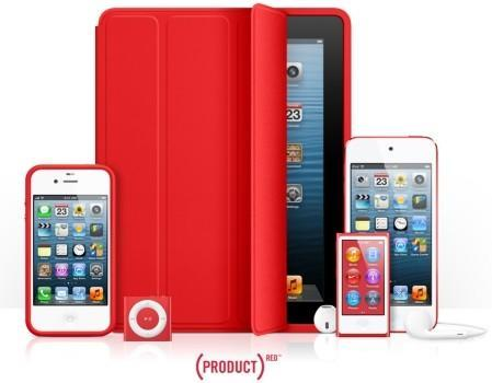 Apple has donated over $65 million to Product Red for AIDS research