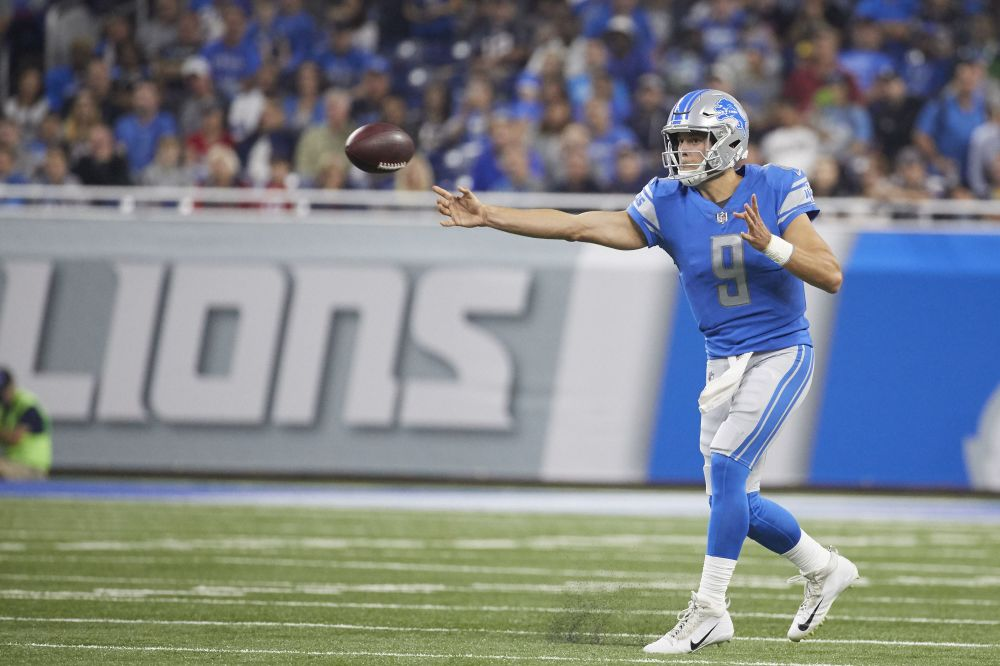 Matthew Stafford has reportedly become the highest paid player in NFL history. (AP)
