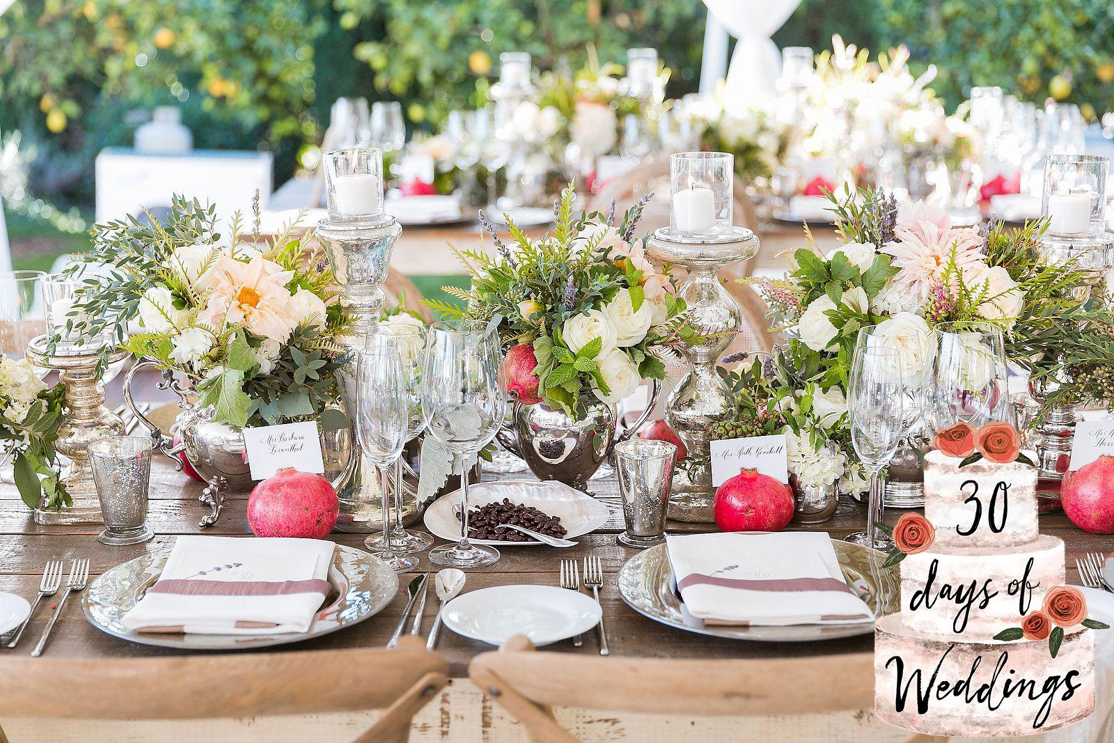 13 ways to make your wedding reception unique for Wedding table decorations ideas to make