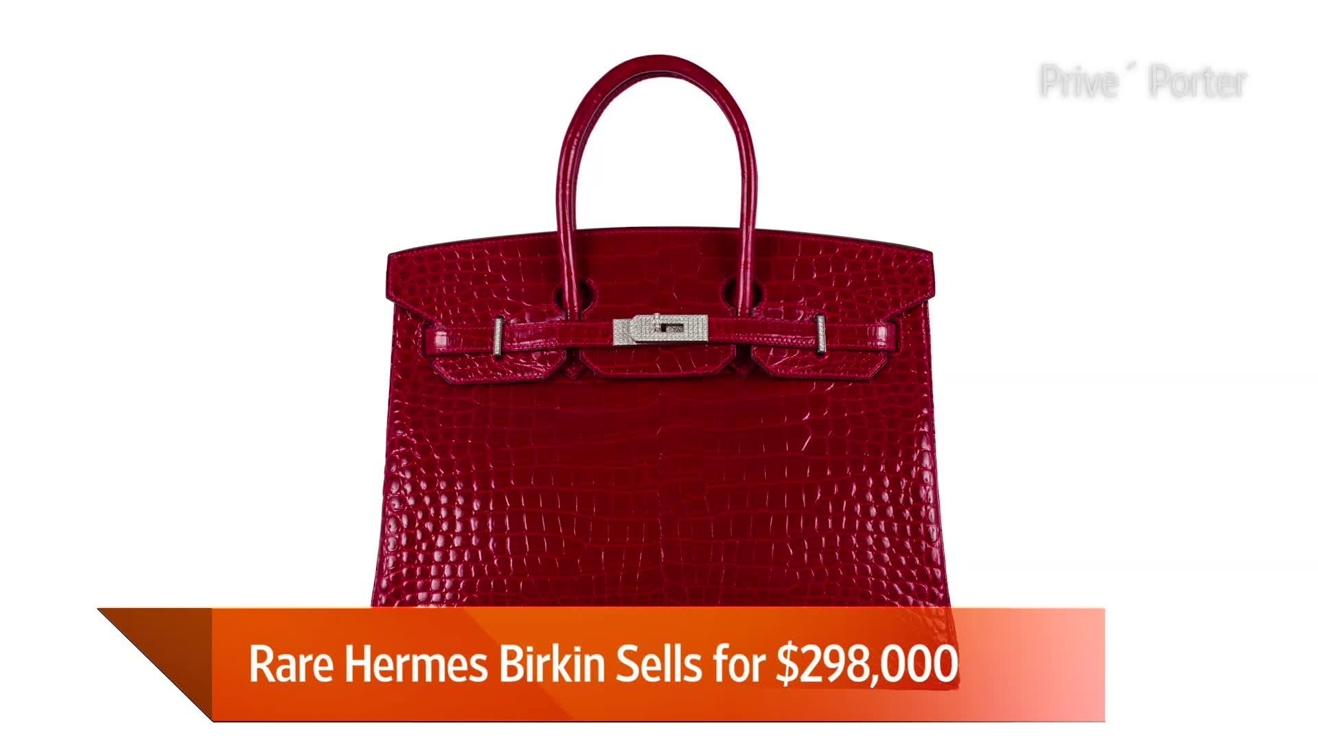 An Hermes Birkin Just Sold for a Record-Breaking Price  Video  0f168ec9b61a3