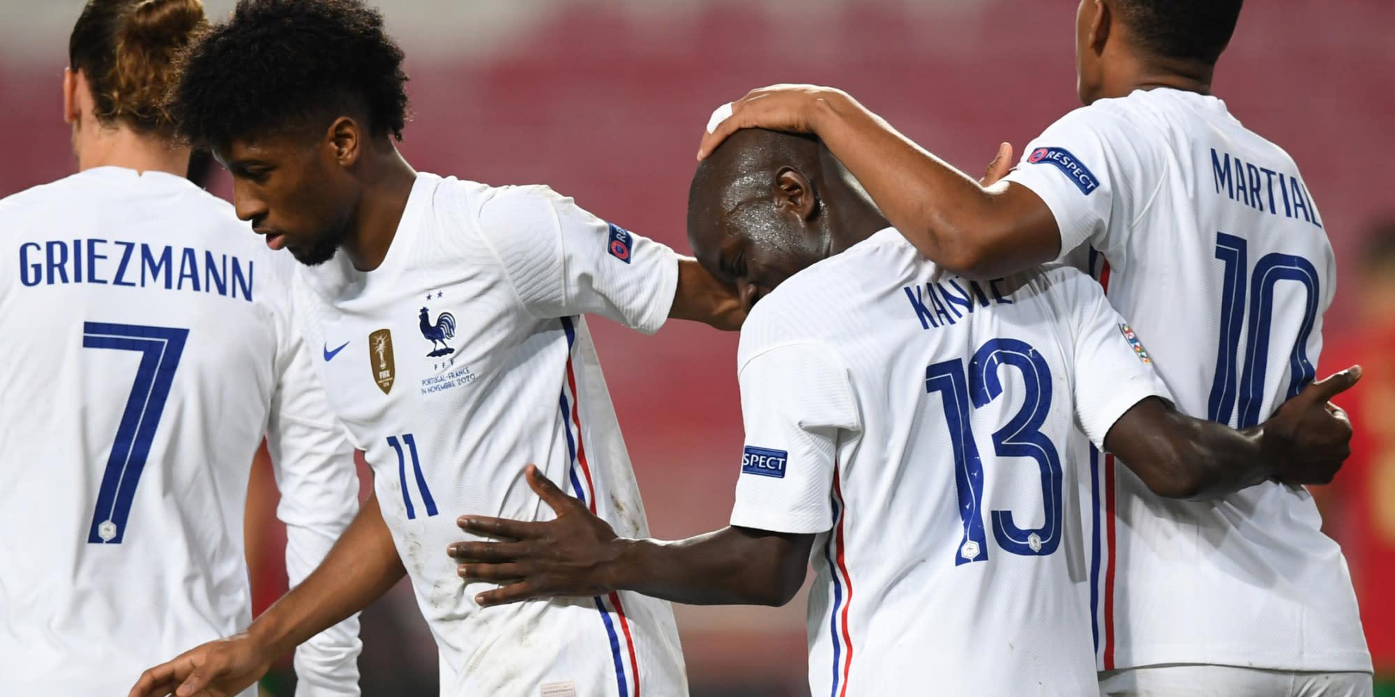 Portugal-France : les Bleus s'imposent 1-0 et se qualifient pour la phase  finale