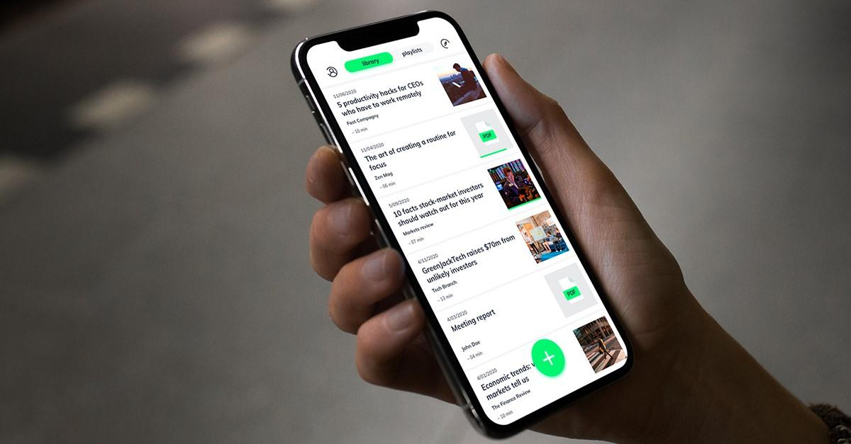 Turn any written content into a podcast with this $35 app
