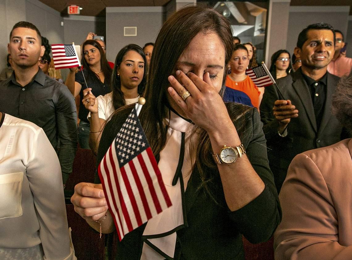 It just got harder for immigrants: the U.S. naturalization test is about to change