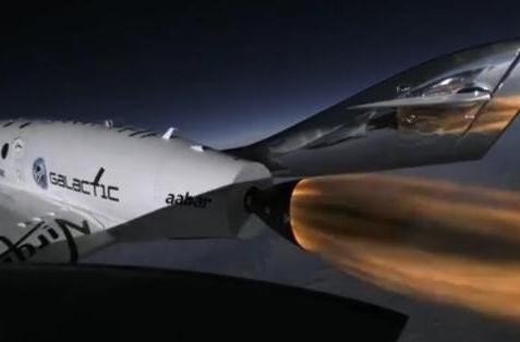 Virgin Galactic tests new thrusters, further disregards gravity (video)