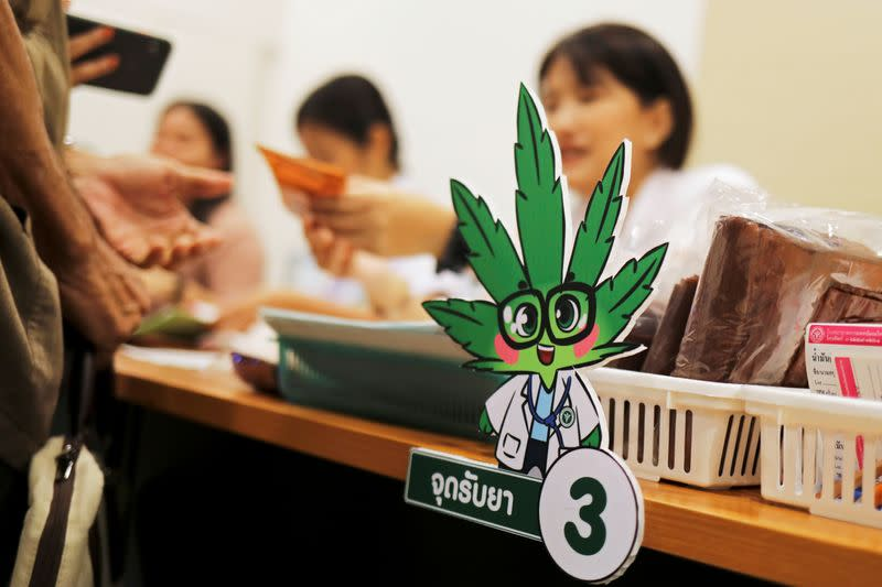 FILE PHOTO: The launch of the first official medical cannabis clinic in Bangkok