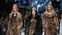 Dolce & Gabbana brings VIP teens to party on Milan catwalk