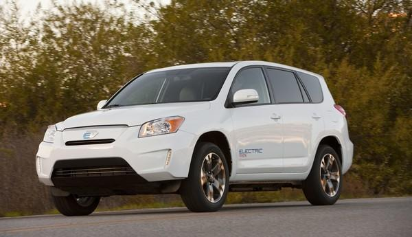 Toyota debuts 100 mile Tesla-powered RAV4 EV, Musk says it 'helps us with the Model S'