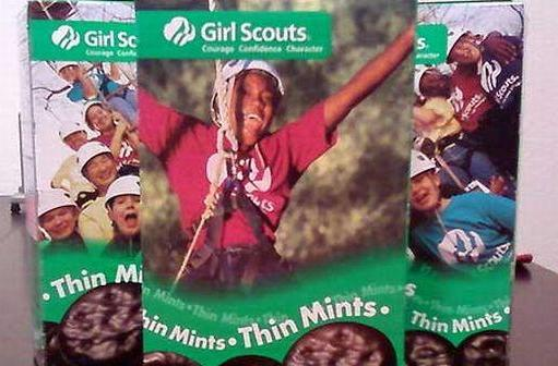 Girl Scouts using iPhones to sell cookies now