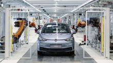 Volkswagen to start sales of first-edition all-electric ID.3 hatchback in June