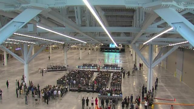 5/6pm: Cleveland Convention Center opens