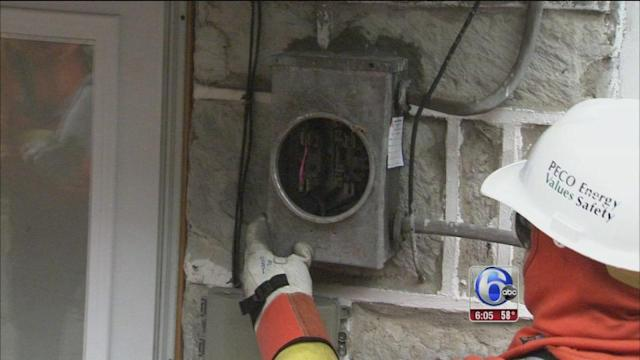 Exclusive: PECO cuts off power to those stealing electricity
