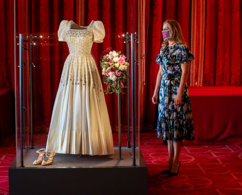 Princess Beatrice wedding dress ahead of it going on public display at Windsor Castle