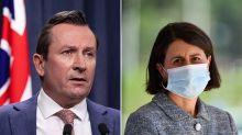 'Not the Australian way': McGowan takes aim at NSW premier