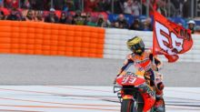 Marquez wins season-ending MotoGP at Valencia