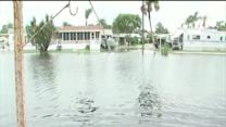 Pasco County residents nervously watch flooding, brings memories of TS Debby