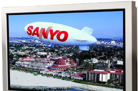 Sanyo's 52-inch 1080p CE52SR1 LCD sheds water