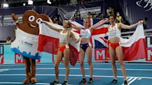 British athletes urged to follow Keely Hodgkinson's example and to show no fear