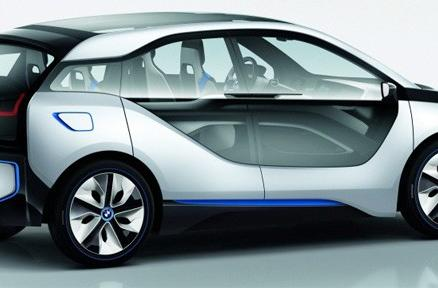 BMW unveils new i3 and revamped i8 concepts, we await our automotive future (video)