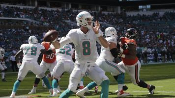 Tannehill inactive, Osweiler starts for Dolphins