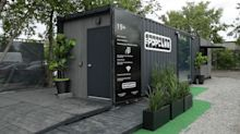Shipping container cannabis stores aim to cash in on neglected rural markets