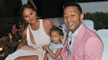 Chrissy Teigen is on a long-haul flight with a newborn, and her tweets are so relatable