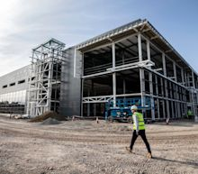Britain will be able to vaccinate nation against new Covid strains within months after new super-factory opens