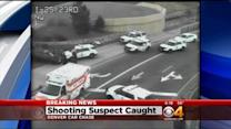 Shooting Suspect Captured After Chase