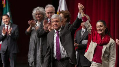 Morena y López Obrador presentan estrategia rumbo 2018
