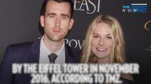 Harry Potter Hottie Matthew Lewis Marries Girlfriend Angela Jones in Italy