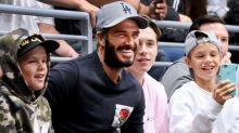 David Beckham has a boys' night out with his sons because this family continues to be #FamilyGoals