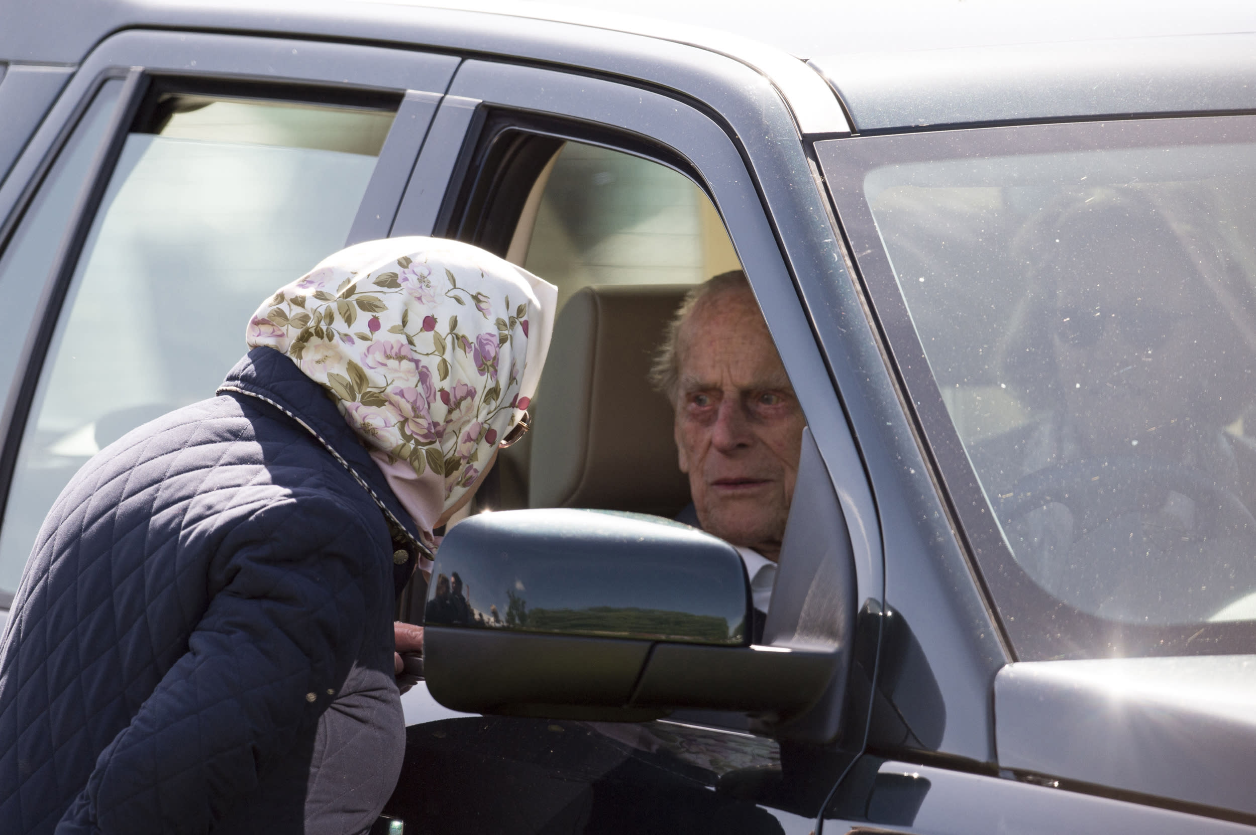 January 17, 2019 - Prince Philip The Duke of Edinburgh was not injured in a two-car crash as he was driving his Land Rover near Sandringham Estate. - File Photo by: zz/KGC-178/STAR MAX/IPx 2018 5/11/18 Her Majesty Queen Elizabeth II and Prince Philip The Duke of Edinburgh at The Royal Windsor Horse Show. (Windsor, Berkshire, England, UK)